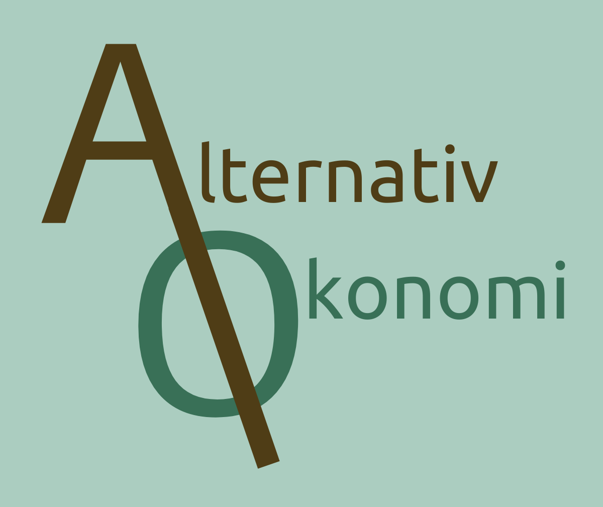 Alternativ økonomi